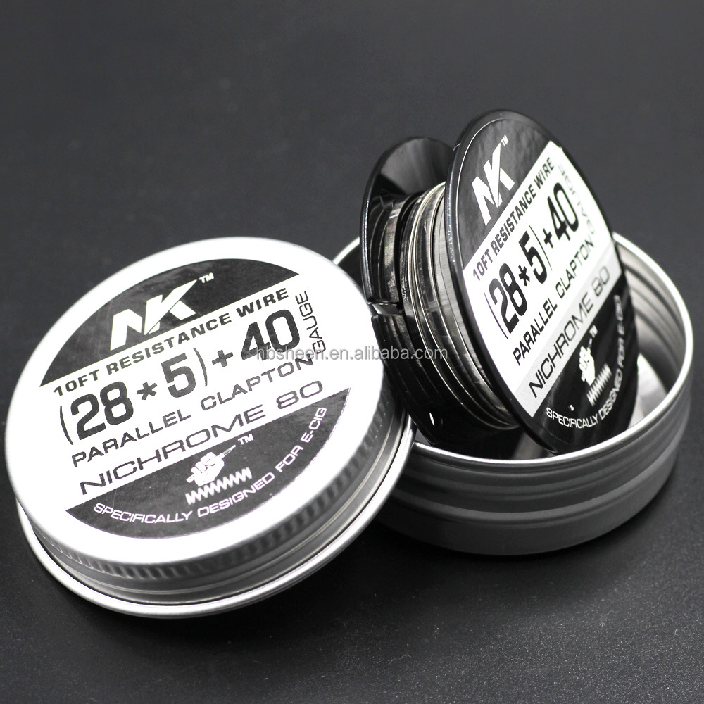 Admirable New Clapton Coil Wire Nichrome 80 Wire 2 Core Parallel Clapton Wire Wiring Cloud Toolfoxcilixyz