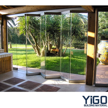 Folding Panel Partitions Internal Sliding Doors Into Wall View