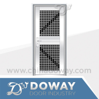 Grill Design Home Stainless Steel Door Entrance