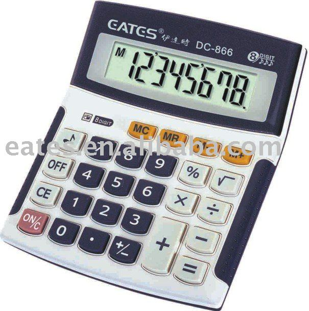 8 digits handheld and mini pocket size calculator
