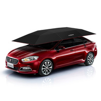 Patent holder Lanmodo innovative automatic car umbrellas with anti-theft and windproof function