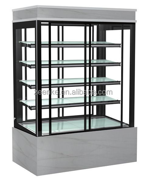 Cake Showcase Vertical Refrigerated Bakery Display Case