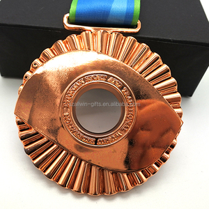 Honor dragon boat die casting sports memorial medals for sale
