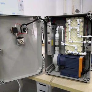 HOCl generator for production of hypochlorous aacid solution used for disinfection of water