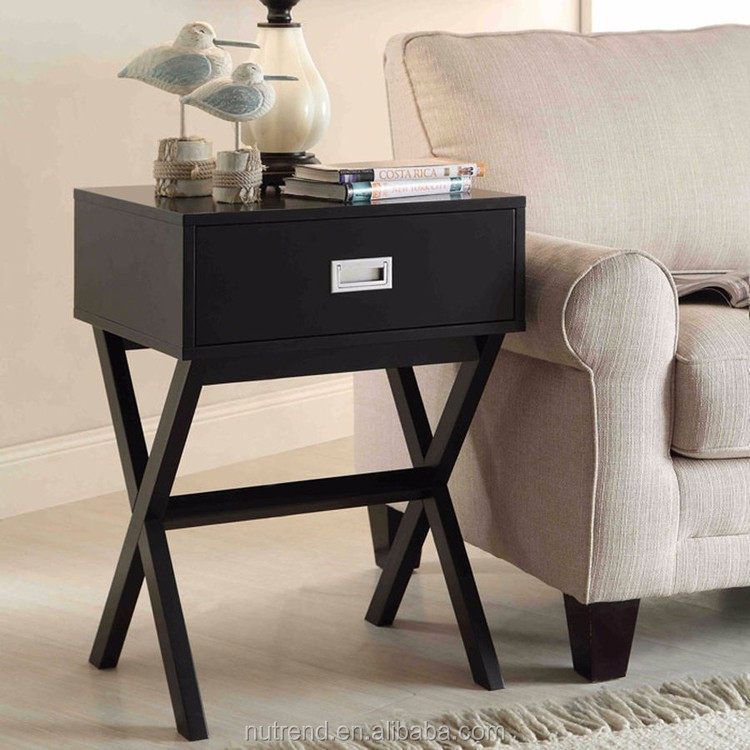 Simple Style Cheap Sofa Small Side Table Night Stand For