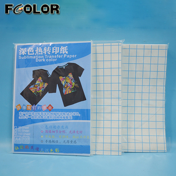 Bulk Buy in China Sublimation Dark Cotton t shirt Heat Transfer Printing Paper