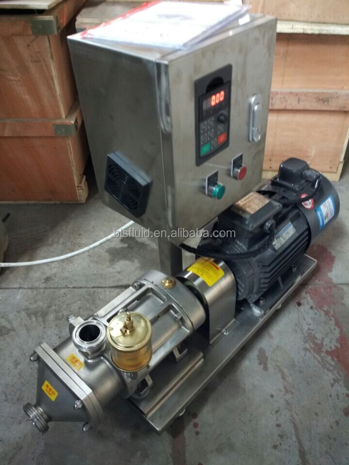 2017 hot sale twin screw pump for carrot cake