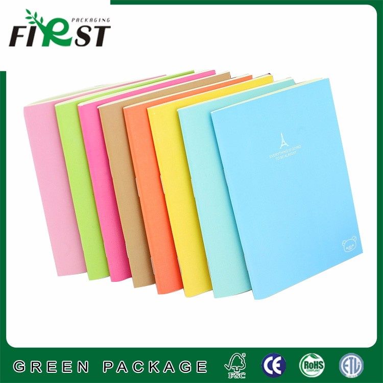 Cheap School Exercise Paper Cover Student Notebook
