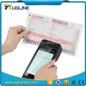 All In One Swipe Card Reader Android Handheld Pda/passport Reader/mrz Ocr  Scanner