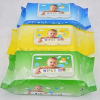Biokleen Natural Care OEM Custom Bulk Baby Wet Wipes 100% Cotton Disposable Personalized China Supplier