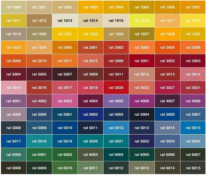 ppg ral color chart ral color chart www ralcolor com. Black Bedroom Furniture Sets. Home Design Ideas