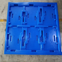 New technology blue HDPE material cheap large plastic pallet