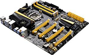 ASRock LGA1150/Intel Z87/DDR3/Quad CrossFireX and Quad SLI/SATA3 and USB 3.0/Wi-Fi/A&GbE/EATX Motherboard Z87 OC FORMULA/AC