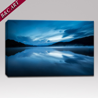 Natural Scenery Oil Painting Cloud Lanscape Canvas Print India for Restaurant Decor