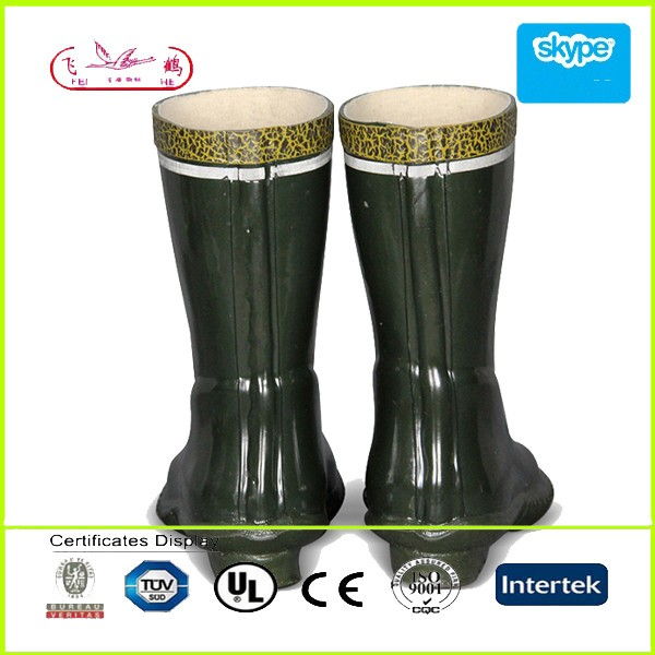 35kv Reflective Isolative Rubber Boots/firefighter rubber boots with fashional design