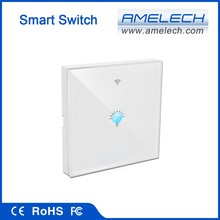 white 1 2 3 gang smart home automation ios android wifi controlled light switch