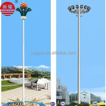 10m To 40m High Mast Lighting Pole,High Mast Lighting Tower