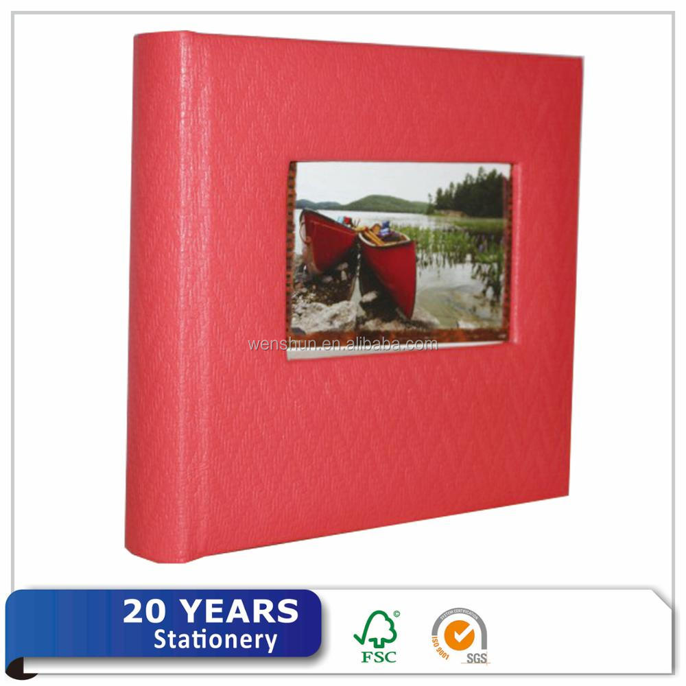 Wholeasale album di Foto Da Sposa In Pelle 4x6 600 Rosso