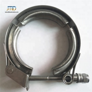 "performance 2''-5"" Stainless Steel V Band Clamps with flanges kit"