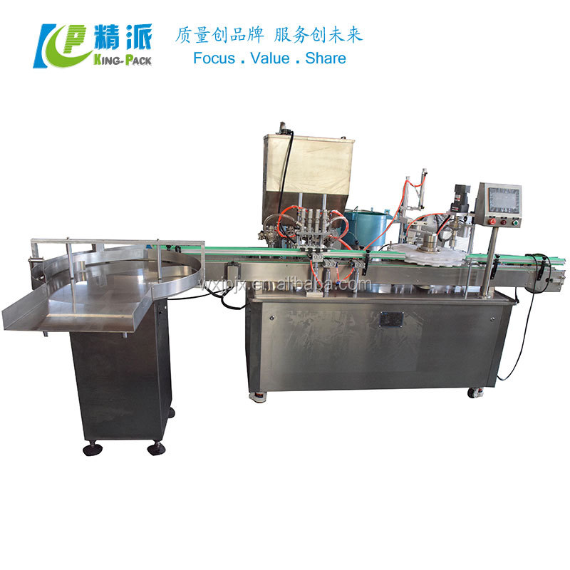 High Speed Bottle Filling E Liquid Machine With Fast Delivery And High Quality