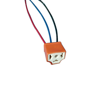 H4 Ceramic 4 Pin Dc 12v Automotive Car Wiring Harness Relay Socket on