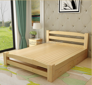 Japanese korea style solid wod pine single bed kid 39 s bedroom furniture children 39 s wooden bed Unfinished childrens bedroom furniture