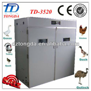 TD-3520 full automatic egg incubator hatchery price equipment from china for the small business