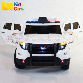 Licensed Ford Explorer Style Ride On Toy Car For Kids With Remote