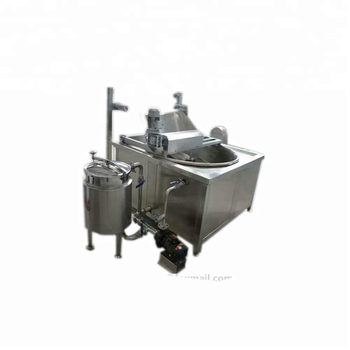 French fryer machine/ small potato chips fryer machine