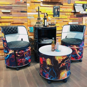 drum furniture empty oil drum furniture wholesale suppliers alibaba
