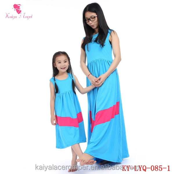 Wholesale mother and child dress party dresses mother and daughter matching  dress 1ffc25891373