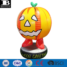 Eco-friendly <span class=keywords><strong>vinile</strong></span> jumbo gonfiabile <span class=keywords><strong>zucca</strong></span> di Halloween decorazione