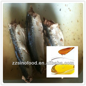 Supply Canned Fish Canned Sardines in Vegetable Oil