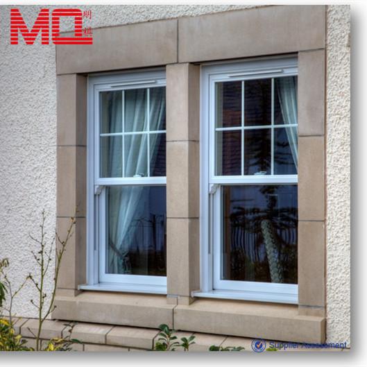 Upvc Single Hung Window Pvc Vertical Sliding Window