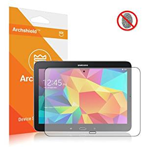 Archshield - Samsung Galaxy Tab 4 10.1 Premium Anti-Glare & Anti-Fingerprint (Matte) Screen Protector 2-Pack - Retail Packaging (Lifetime Warranty)