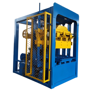 Building block moulding QTJ4-26D Concrete brick making machine south africa