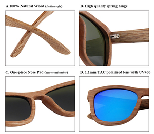 145af648cb Spring Hing For Wood Sunglass Glasses Wholesale