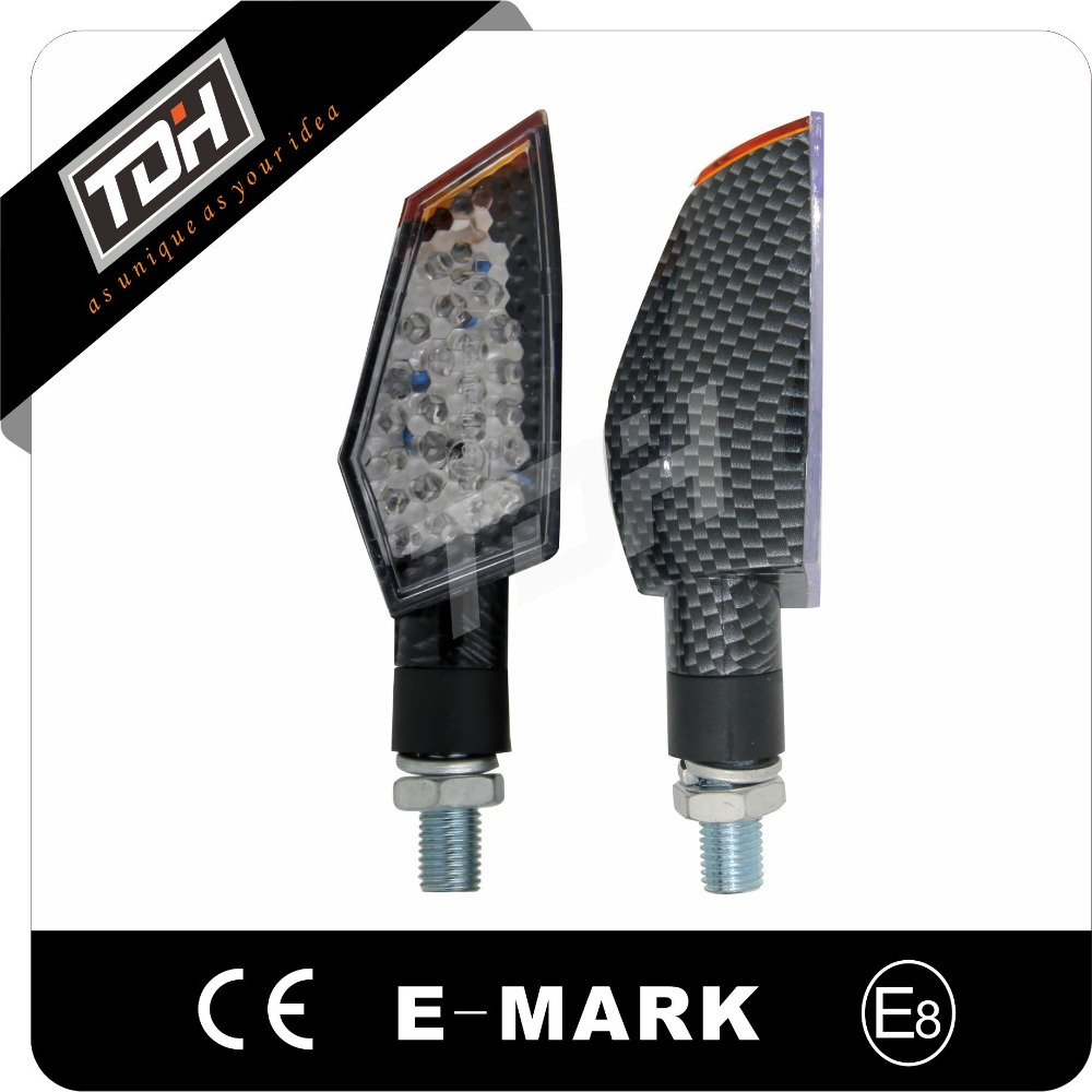 aftermarket parts ece approved 12V led turn signal indicators for motorcycle