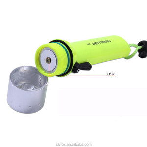 10000LM 7 LED Diving Flashlight 100M Waterproof Underwater Torch Lamp