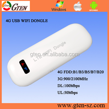 Big discount best customized 4g lte mobile dual sim wifi 4g lte usb dongle Support main 4G LTE FDD broadband 800/1800/2600MHz