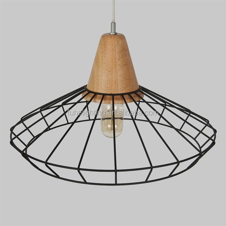 Creative modern nordic pendant lights original wood light living room restaurant wooden art - Creative hanging lights ...