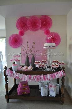 Pastel Hanging Tissue Paper Fans DIY Backdrop Tissue Paper Fans Baby Shower  Party Ideas Hanging Birthday