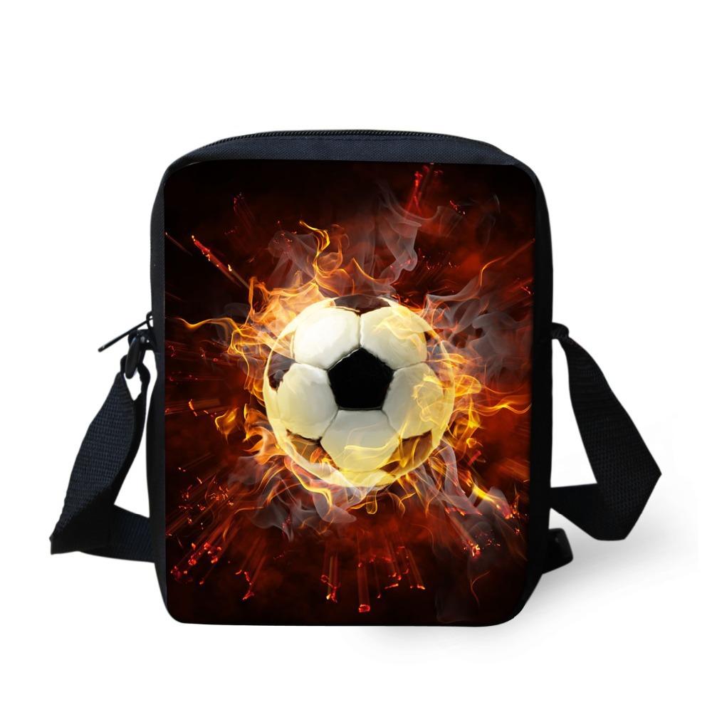 fd4d13ac80 Get Quotations · New football star print messenger bags italy soccer fans  souvenir messenger bags boys crossbody school kids
