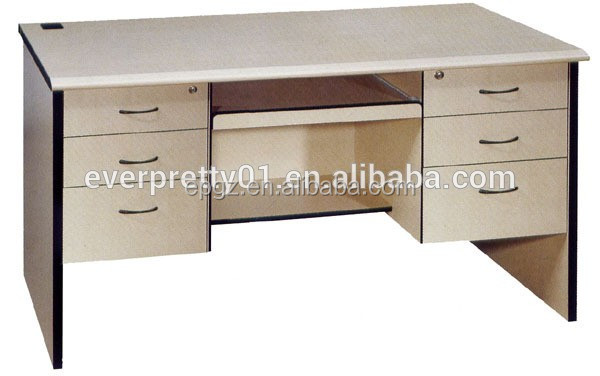 Long Study Computer Table Desk, Standard Size Wooden Computer Desk For Sales Part 30