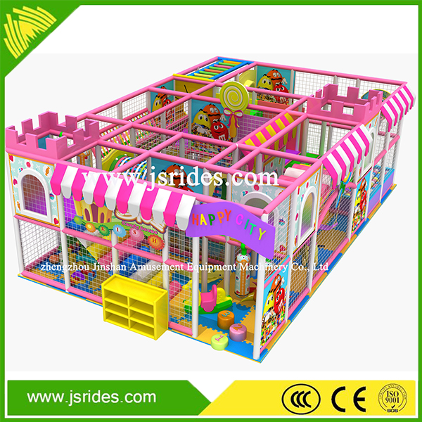 Best professional children games playground indoor naughty castle for home