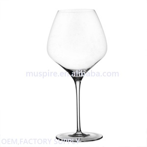 China goods crazy selling polycarbonate red wine glass
