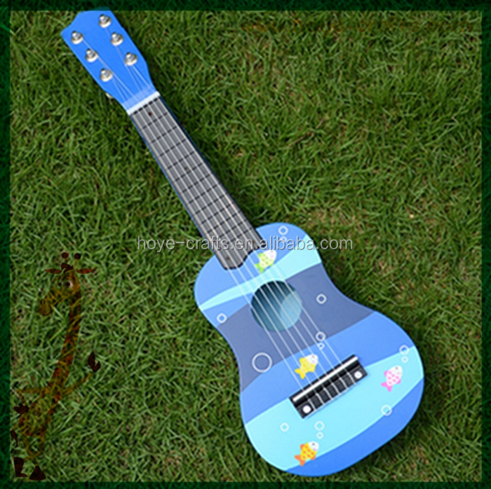 small kids toy guitar baby blue party guitar 21""