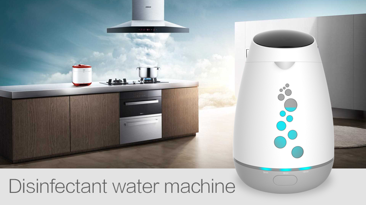 Olansi Factory Price Kitchen Disinfectant Water Machine Home-made beautycare water purifier kitchen disinfectant machine for Pet