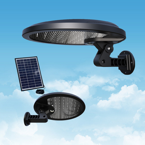 outdoor LED solar wall lamp