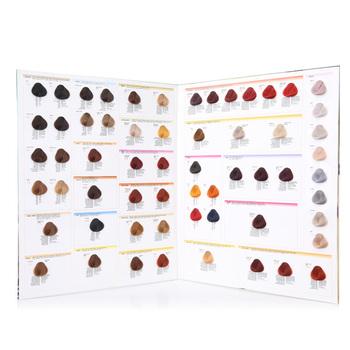 Dos Carpeta Pelo Muestra De Color,Diseño De Color Carta De Color Del ...